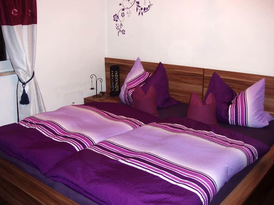 Ferienwohnung zur Schmiede auch Ideal für Golfer - Bad Berneck im Fichtelgebirge - Lägenhet