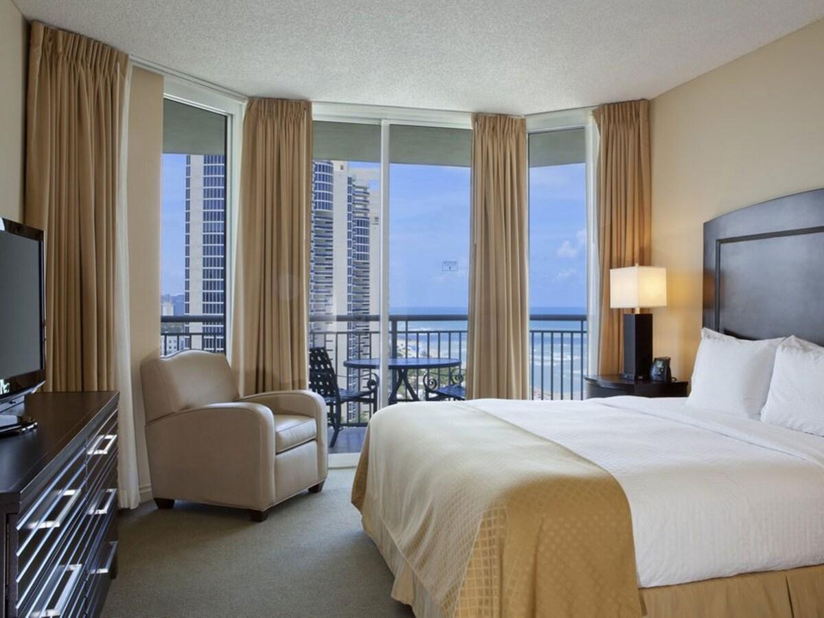 Luxury Hilton Ocean View Beach