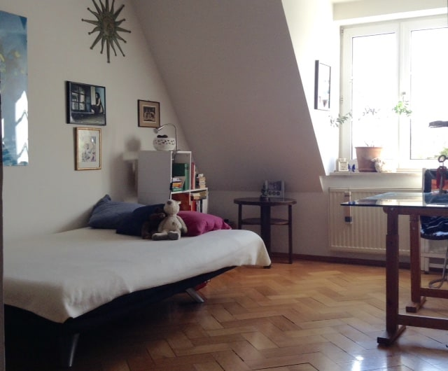 Bright room in Munich-near downtown