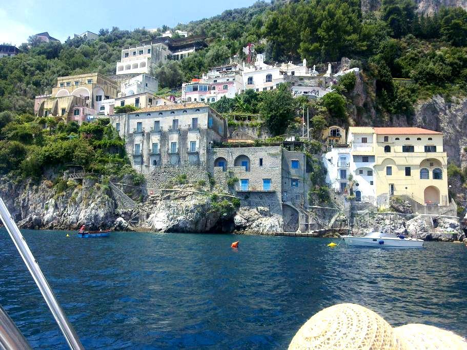 Casa tipica in borgo marinaro - Conca dei Marini