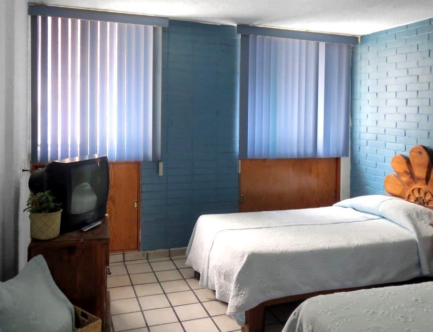 (A) APARTAMENTO SENCILLO, ACOGEDOR, LIMPIO, CÓMODO - Aguascalientes - Lägenhet