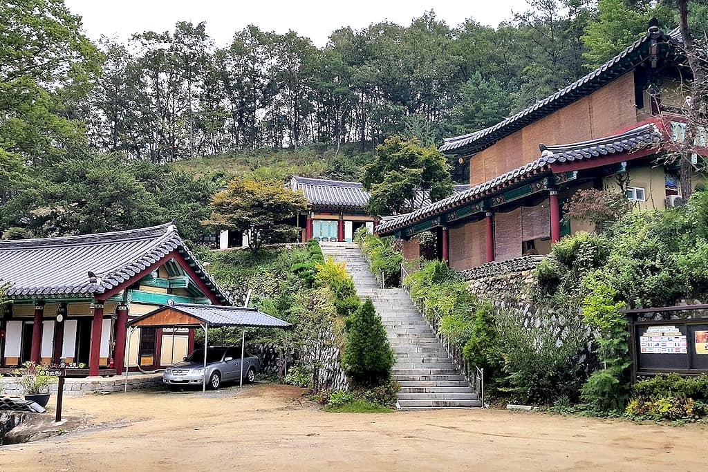 Temple Stay (White Lotus) 템플스테이 - 안동시 - Andere