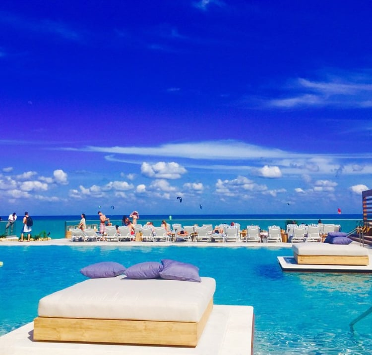 enjoy sun-drenched days at the pool