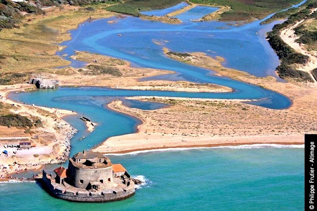 2 chambres privatives face à la mer - Ambleteuse - Vila