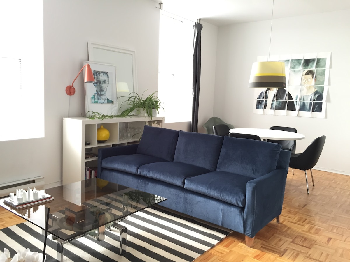 Modern Bedroom - Friendly Gay Area
