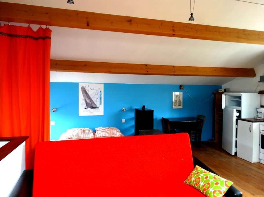 Studio cosy et calme, campagne proche Issoire - Lamontgie - Apartamento