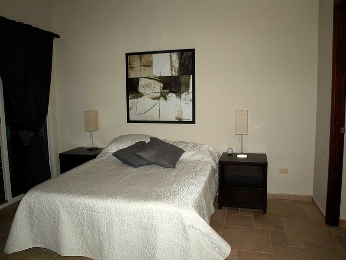 second bedroom with private bathroom