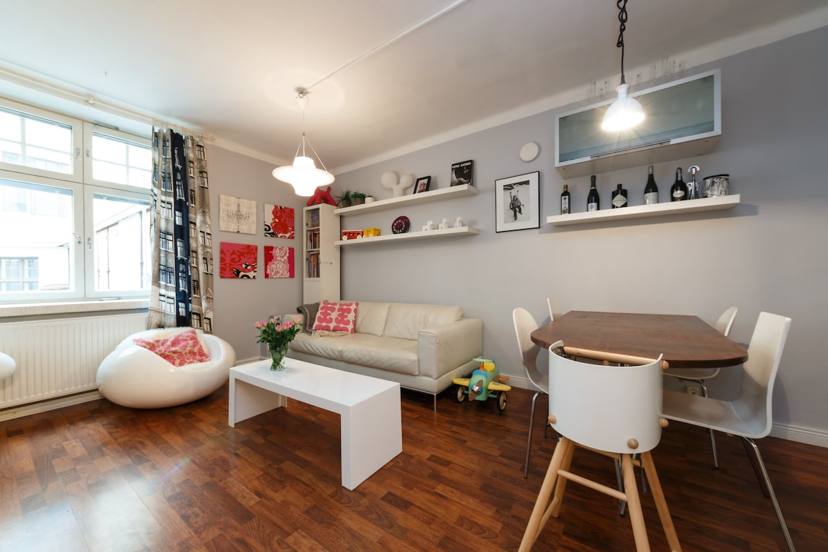 Cool flat at heart of Design Dstrct