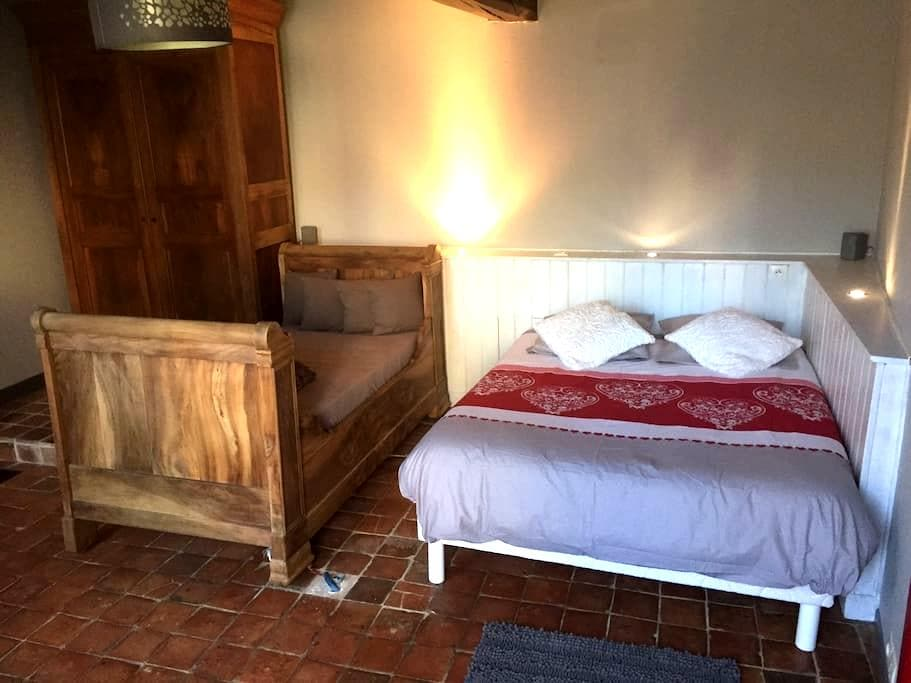 Chambre tout confort au calme - Pourrain - Hus