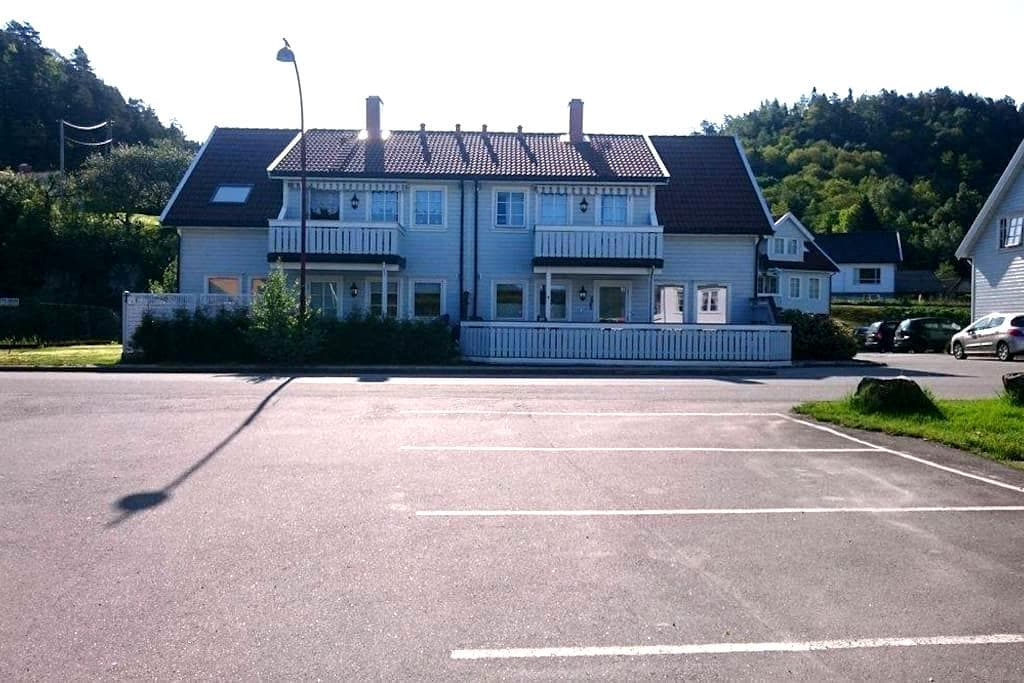 Cosy apartment, walking distance to senter. - Lyngdal - Apartment