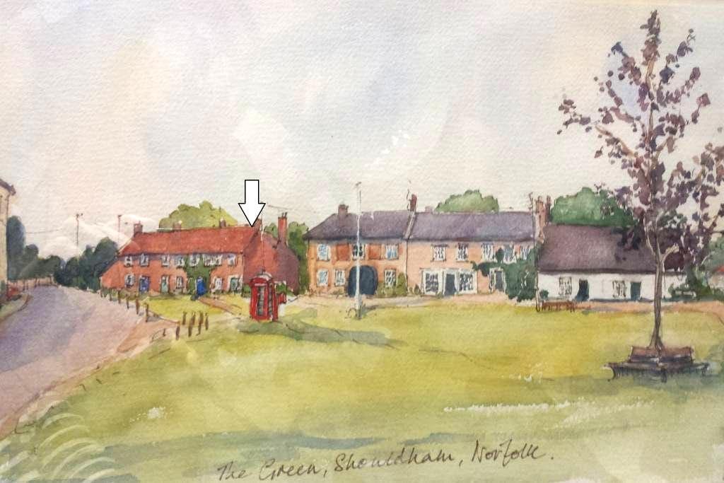 Cosy cottage on village green - Shouldham - Casa