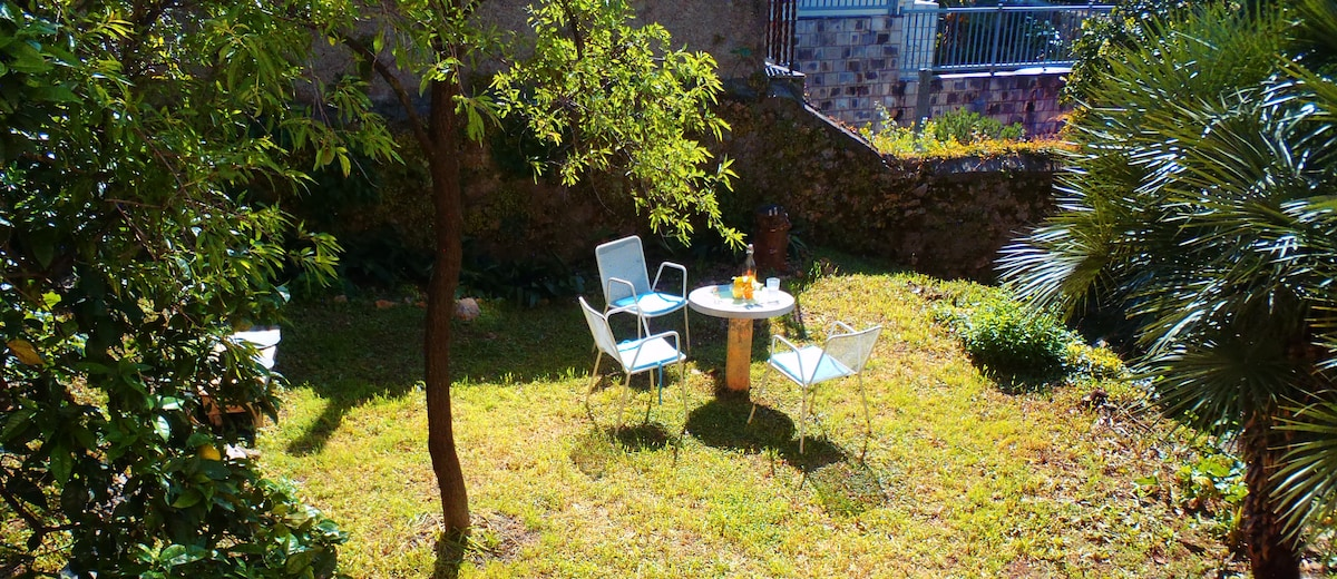 Tihi Kut quiet place with a garden