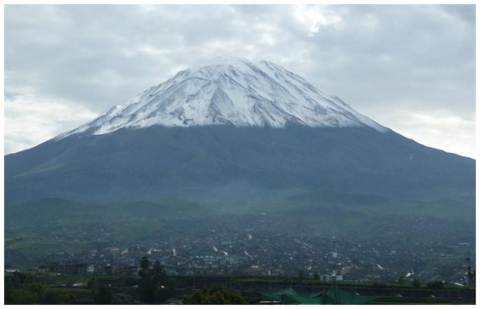 Misti Volcano - 5,825 m.a.s.l.