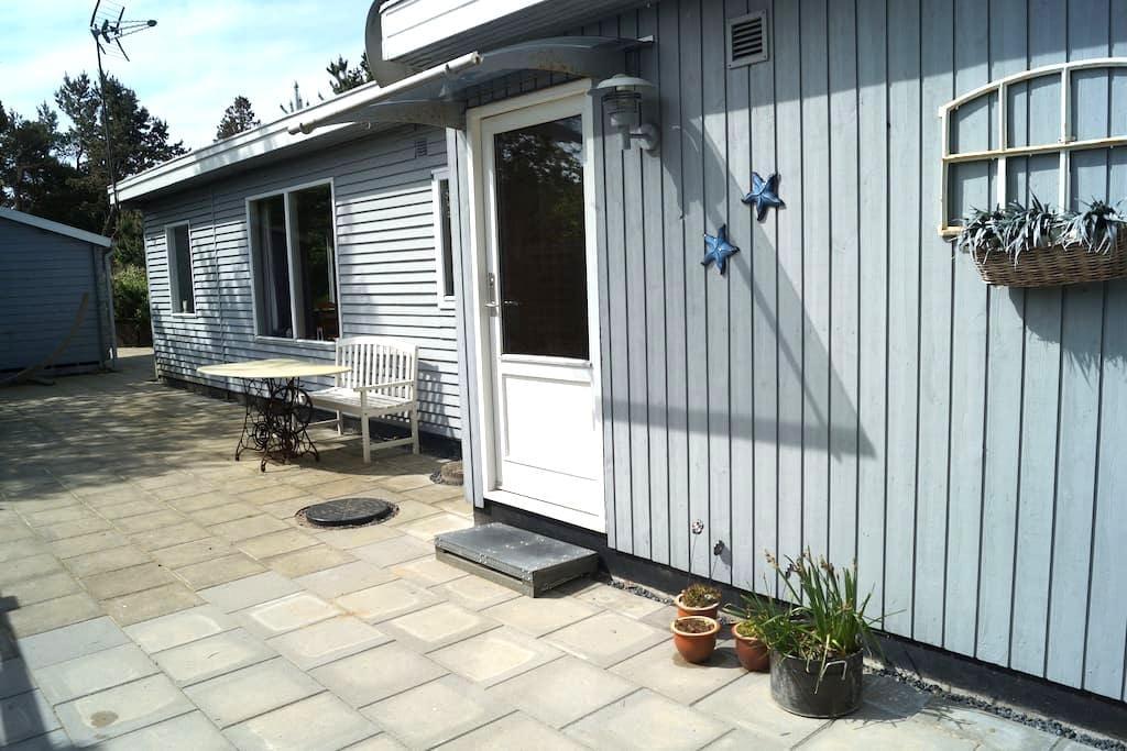 Hyggeligt sommerhus med naturgrund - Hadsund - Casa