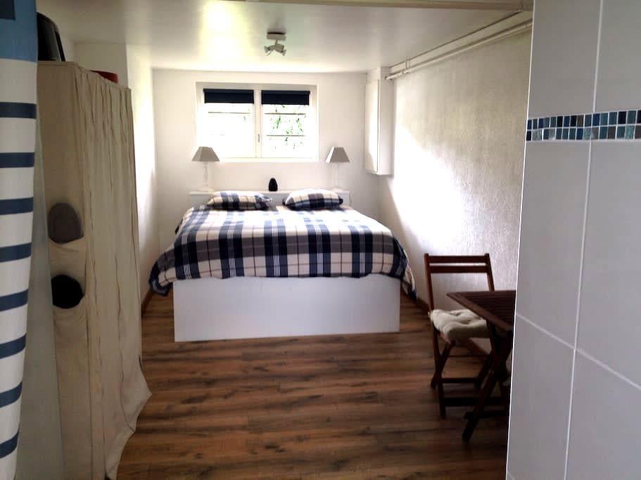 Chambre et salle de bain privative - Montfort-sur-Meu - Casa