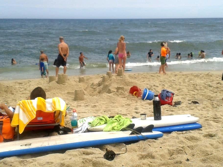 Private apt, Ocean views, 2 chairs, 2 bikes - Belmar - Άλλο