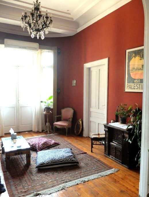 Private room in Downtown Cairo - Marouf - Apartment