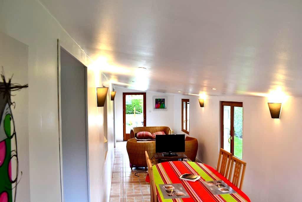 chambre chez l'habitant - Grainville-la-Teinturière - Dom