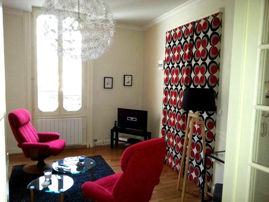 Appartement F2 charmant, au calme. - Vichy