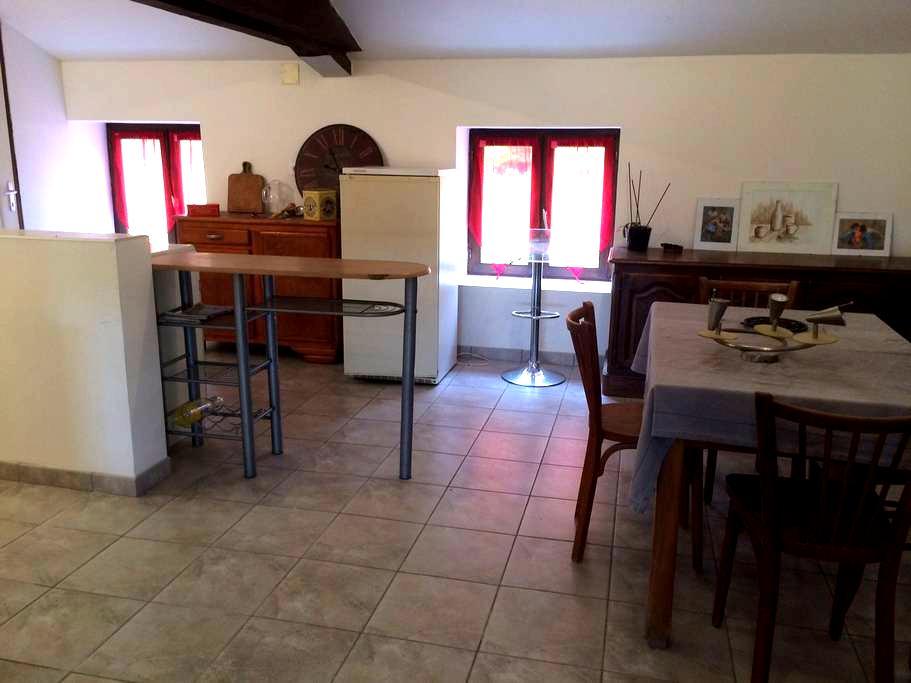 Appartement avec 1 chambre, en campagne pour rando - Luriecq
