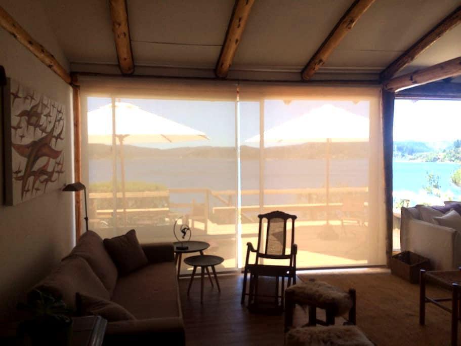 Casa Lago Vichuquén, sector Piedras Bayas - Curicó - House