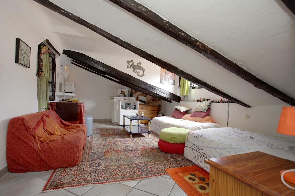 Studio, Old Nice - Castle Lanskape