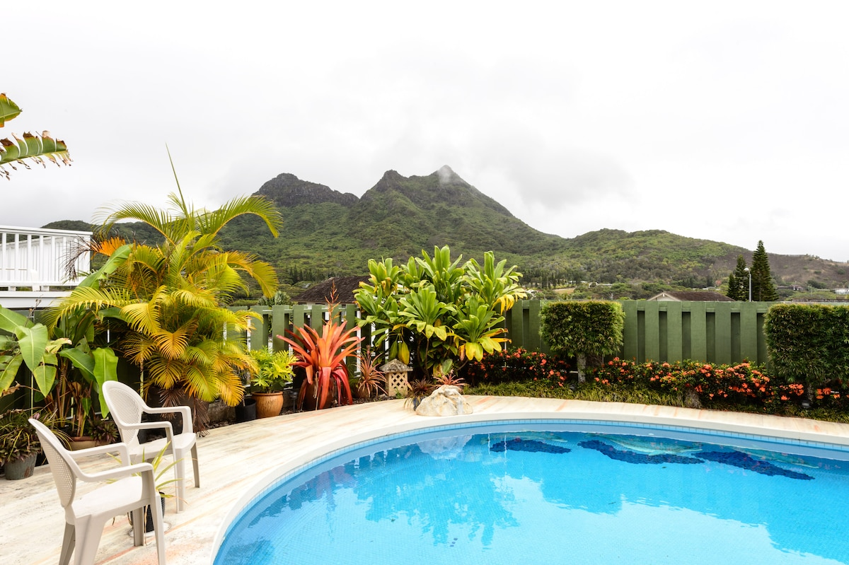 Nice Quiet area, pool, view, beach