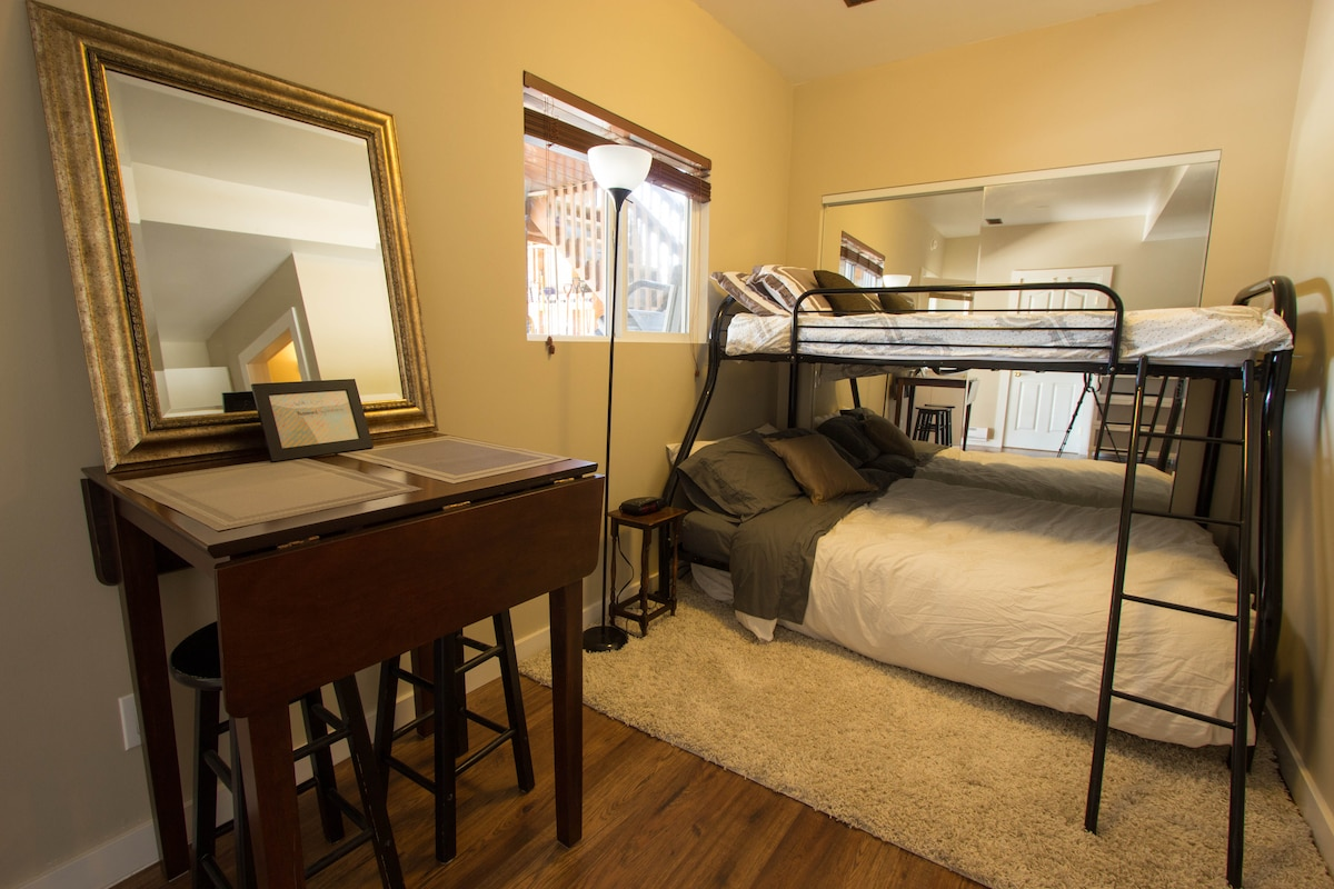 Studio Apt close to DT and Wineries