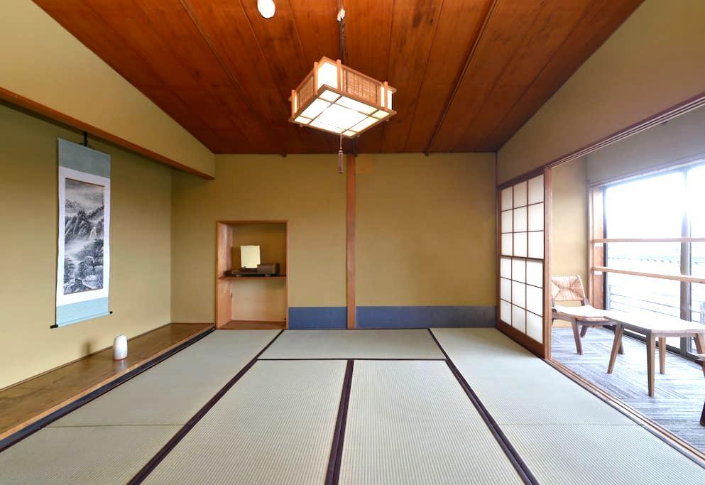 [Traditional Japanese Style Room 3] ZEN Hostel - Yamanouchi