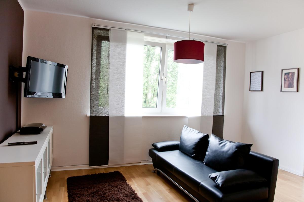 Das einladende Wohnzimmer/ the welcoming living room