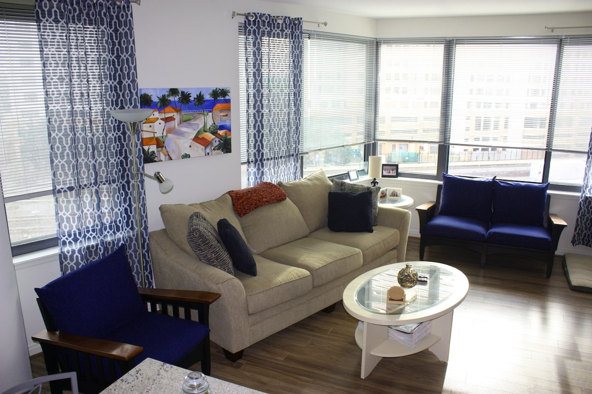 Bed/Bath on Red Line! Pet Friendly!