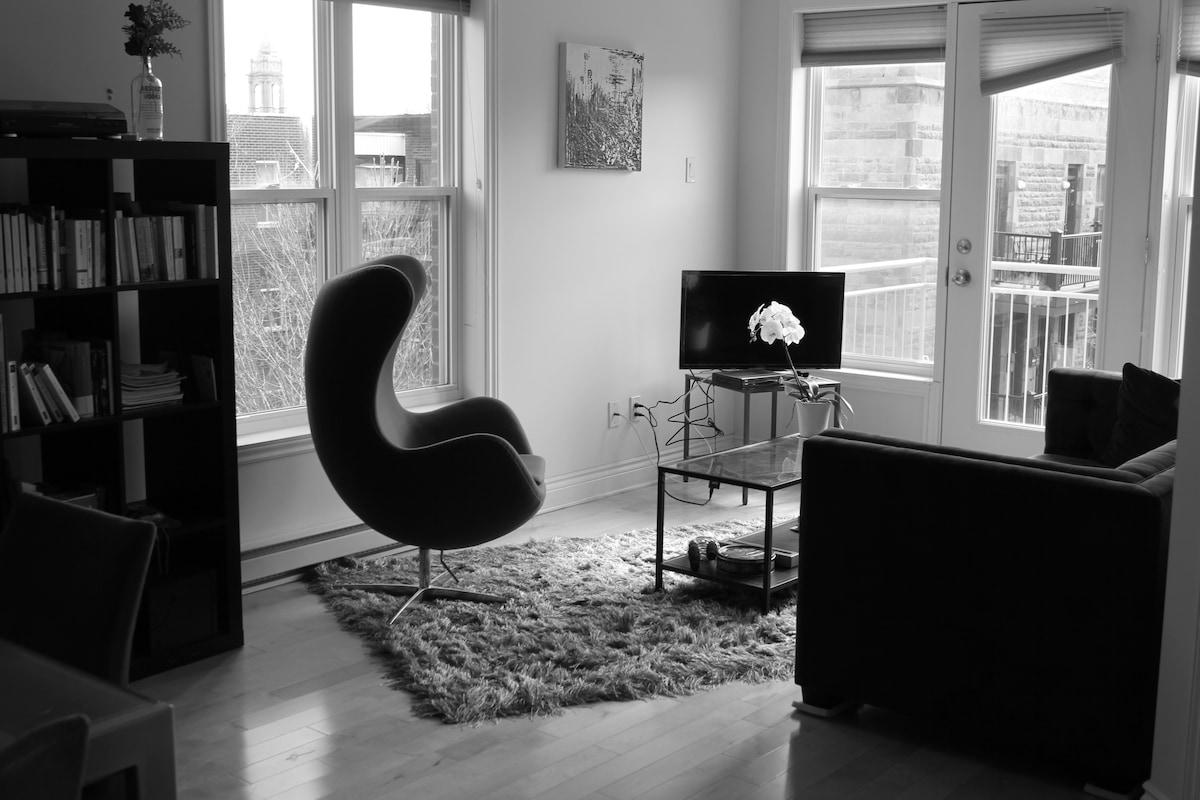 Cozy Room in a luminous condo