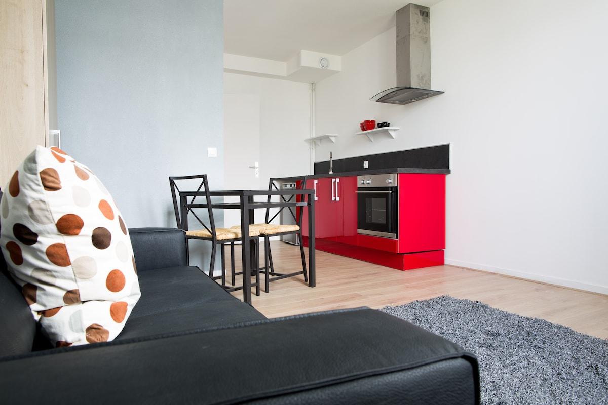 Studio cosy, centre ville, Lille