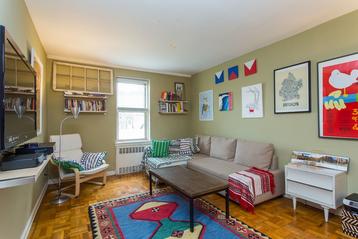 COSY AND SPACIOUS ROOM IN BROOKLYN