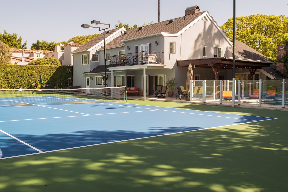 Beverly Hills Rodeo Dr. Pool Tennis
