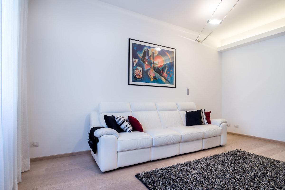 Apartamento moderno e charmoso