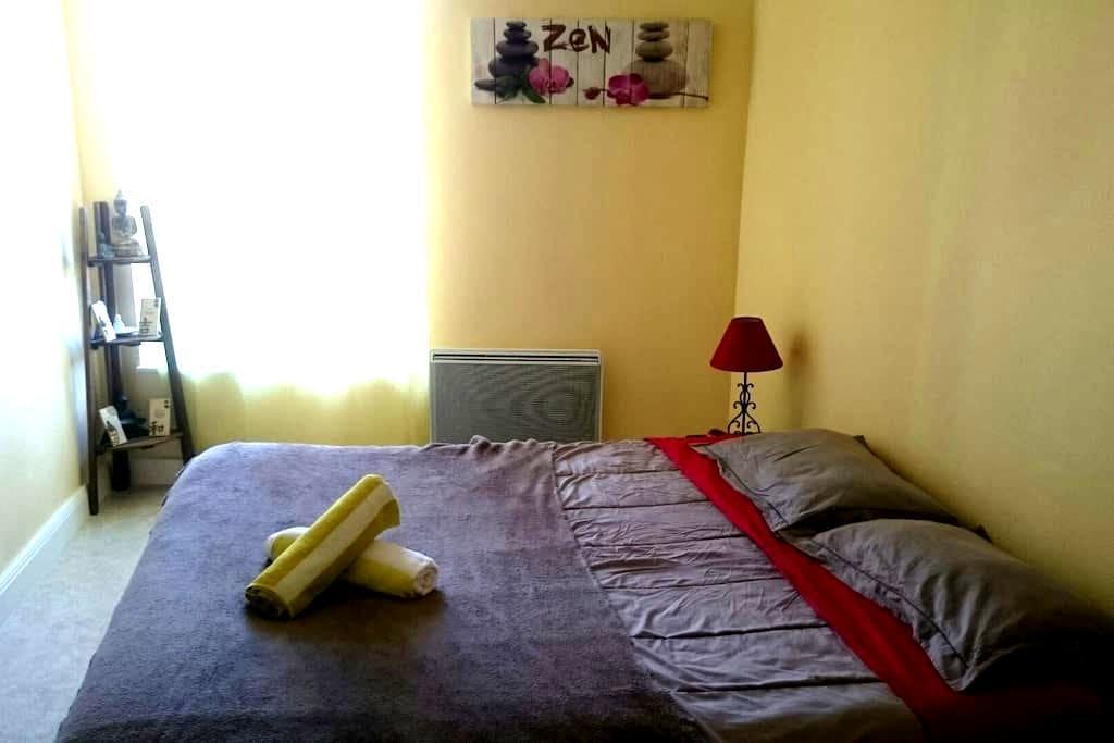 Lit douillet en Pays Cantalien - Mauriac - Appartement
