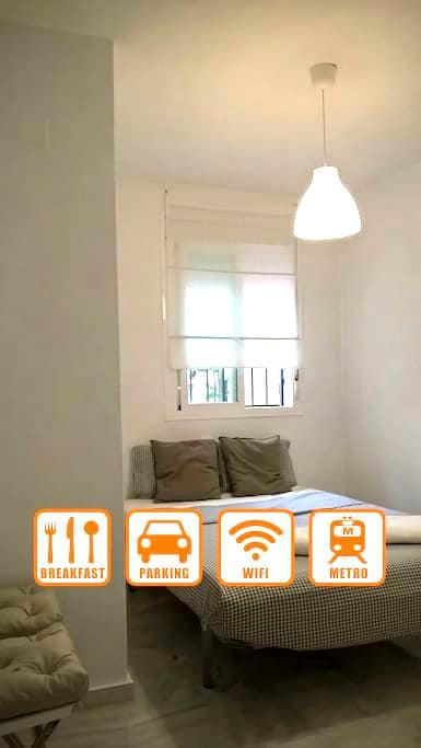 Zimmer €25, 10 min. von Sevilla Znt - San Juan de Aznalfarache - Haus