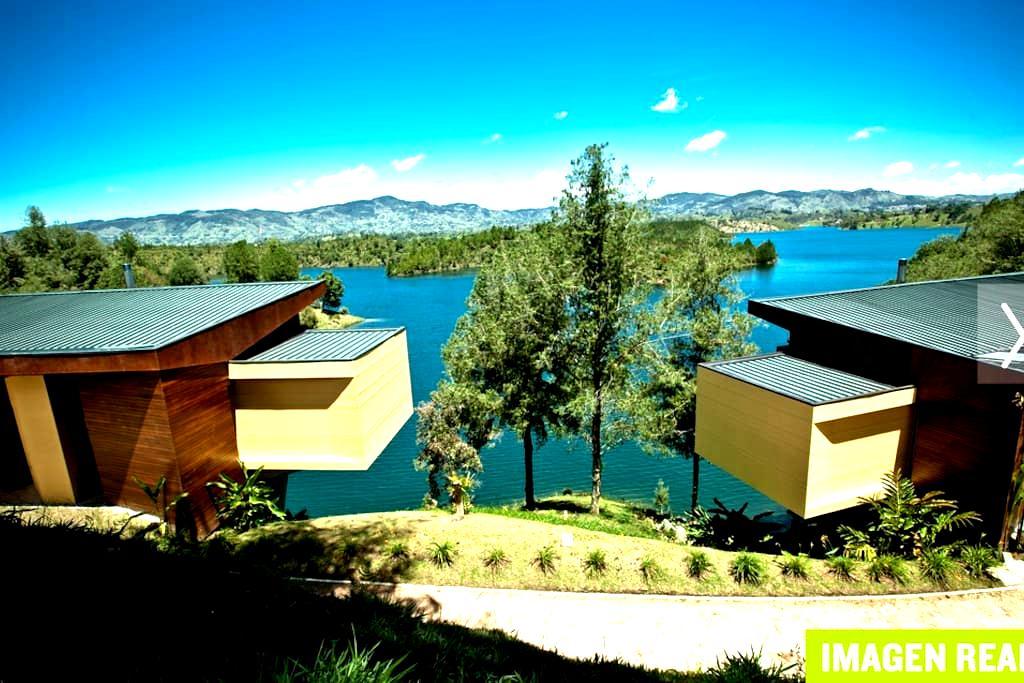 2BD Lake Cabin - Guatape Penol Medellin - Guatapé - วิลล่า