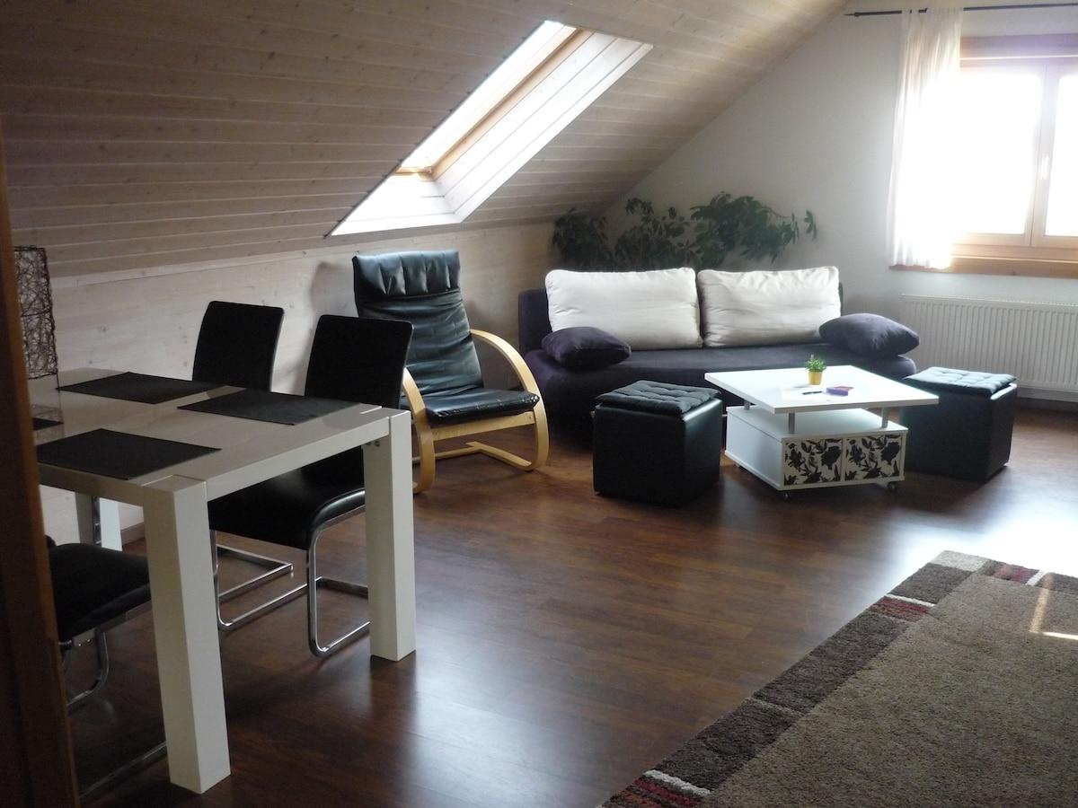Apartment Aichelberg Holzblockhaus