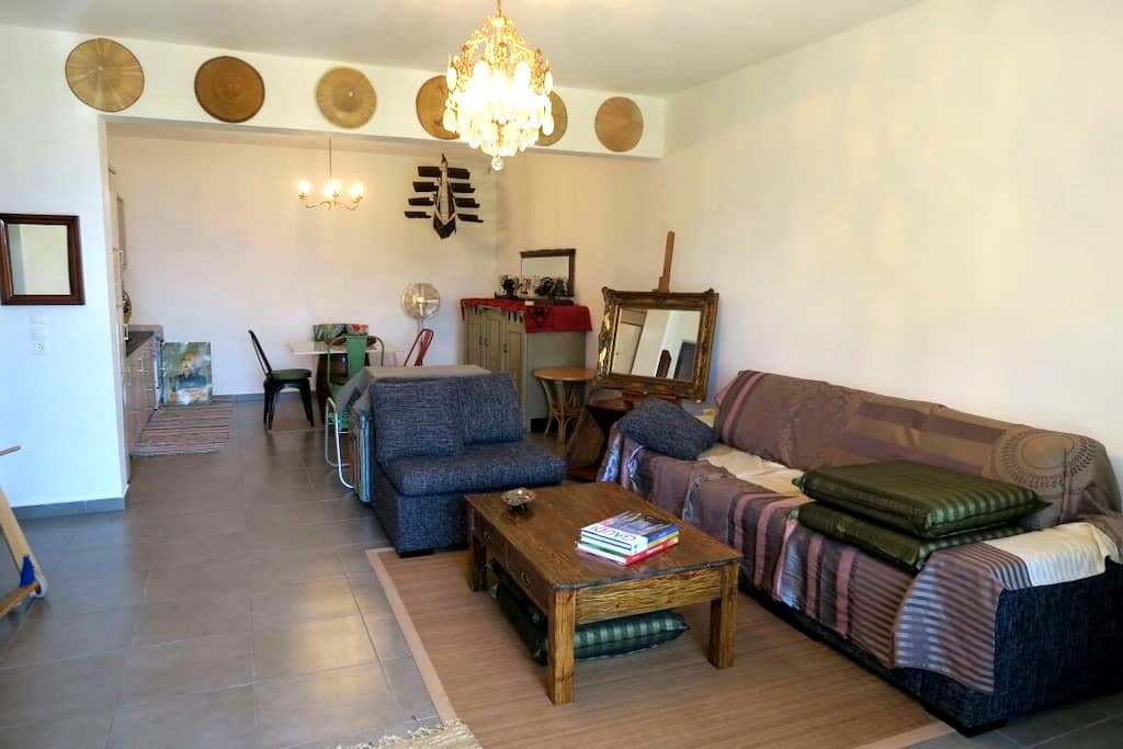 Artistic house with amazing views - Panormos - Huis