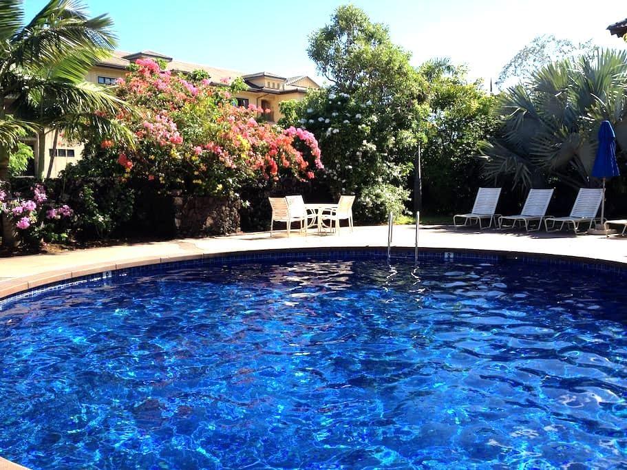 Tropical Oasis in World Class Area - Koloa