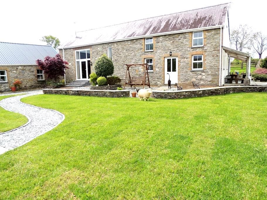 Waunwthan Cottage Bed & Breakfast. Meadow Room - Saron - Bed & Breakfast