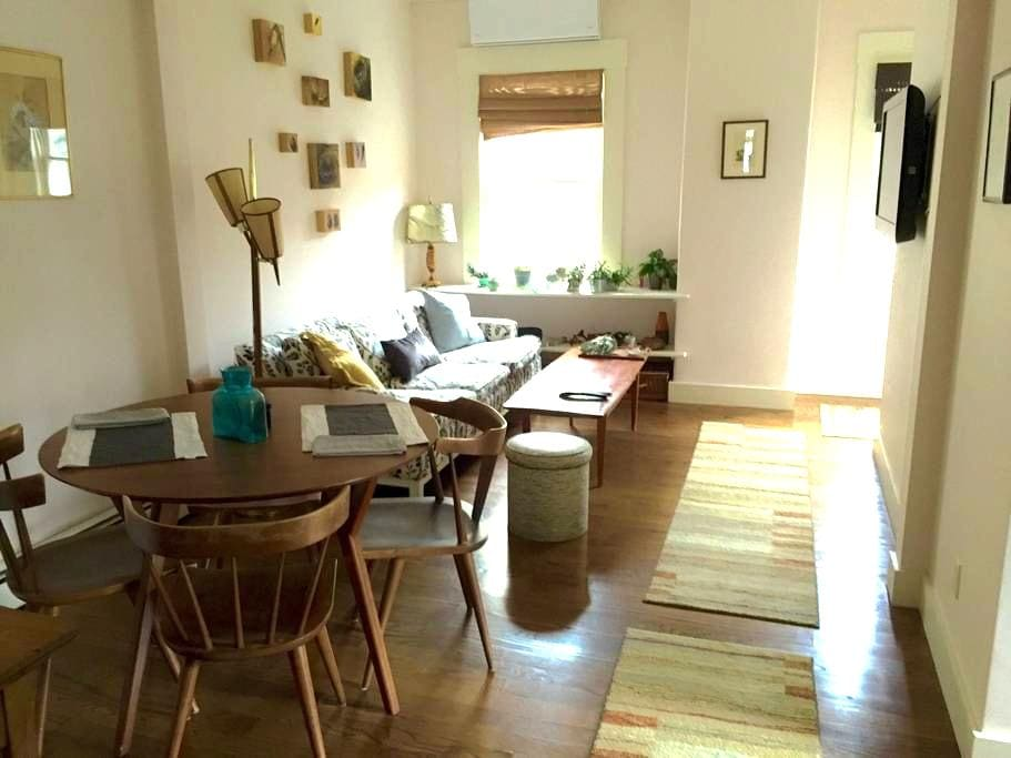 Charming condo by Brown/RISD - Providence - Appartement en résidence