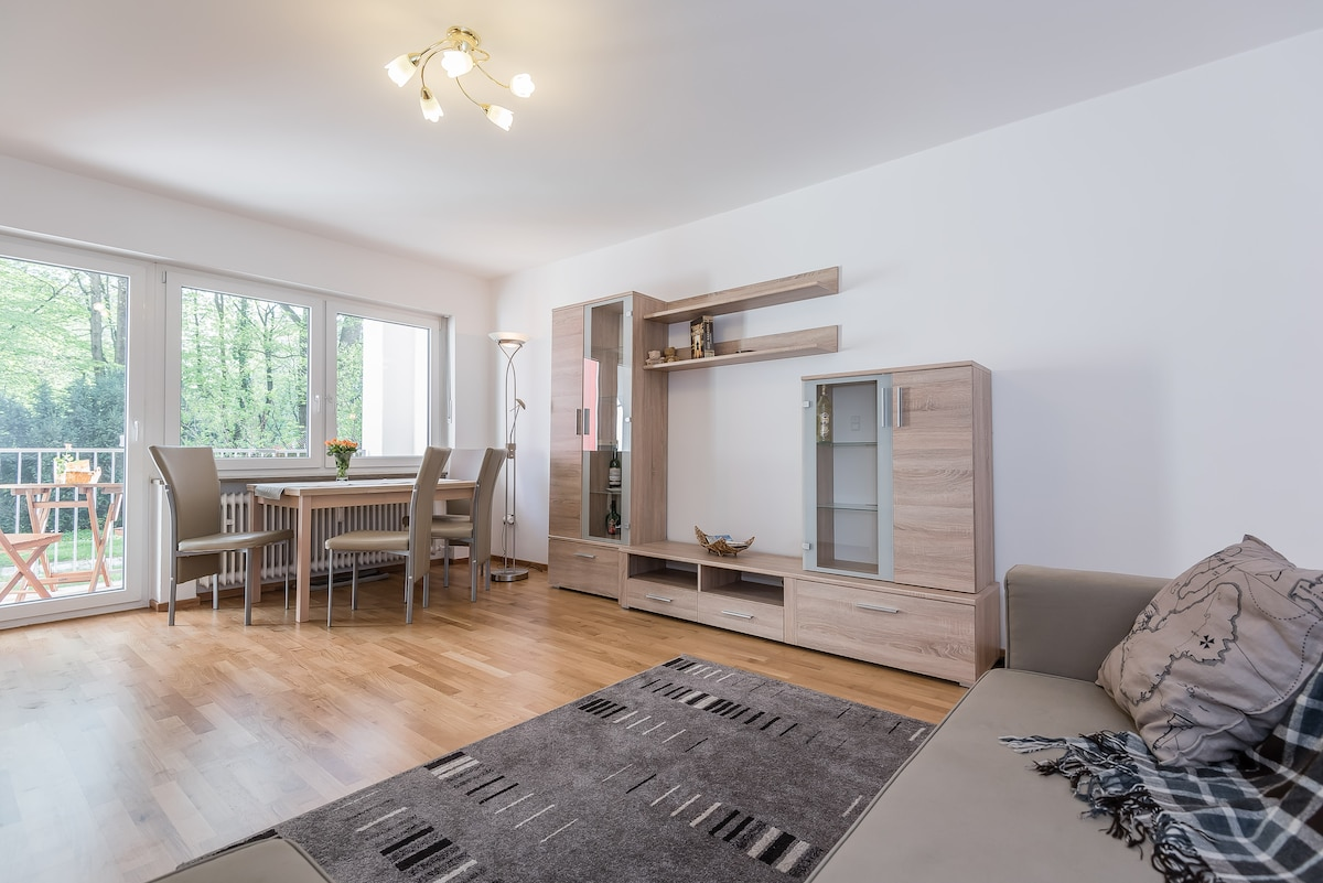 Spacious apartment near Ostbahnhof