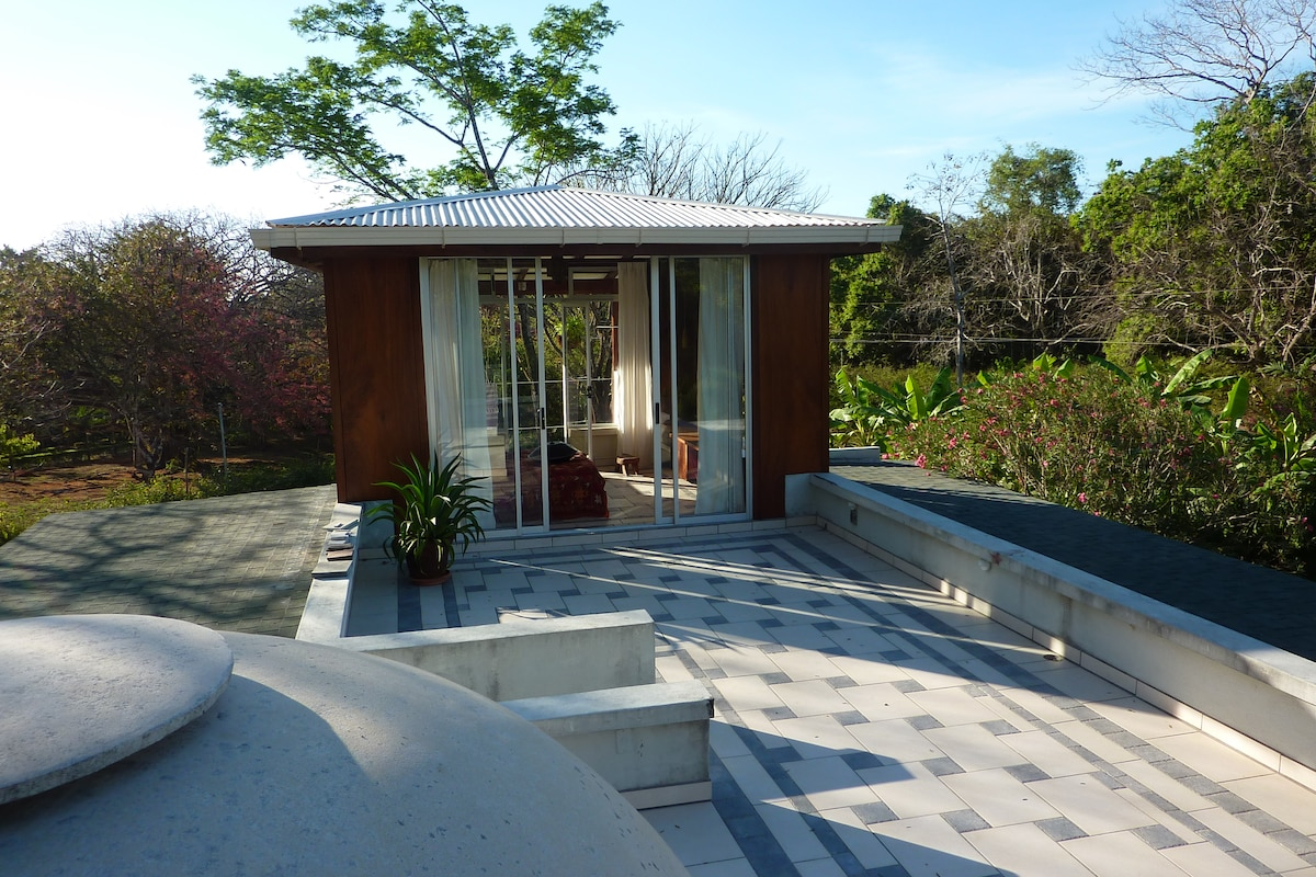 your private rooftop terrace with great garden views