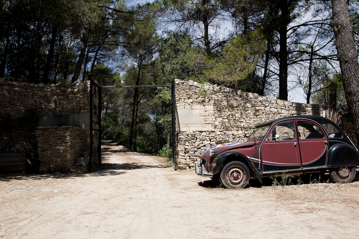 a paradise in the heart of luberon