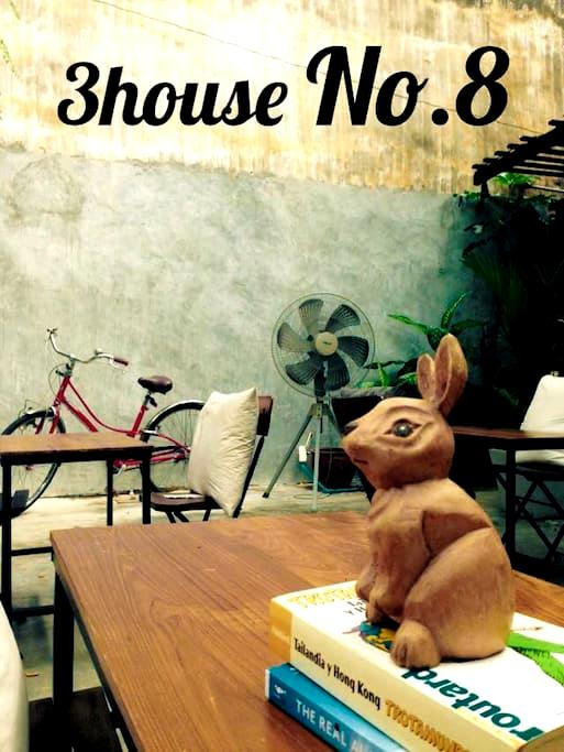 3HOUSE Khaosan Single bedroom No.8 - Bangkok - House