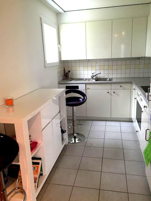 Accogliente stanza privata a Jona - Jona SG - Apartamento