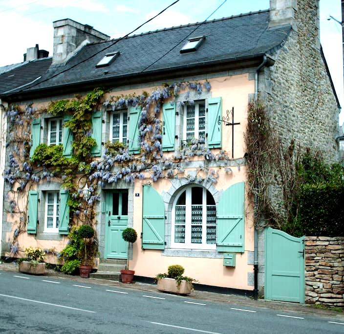 Les Glycines B&B - The Twin Room - Huelgoat - Bed & Breakfast